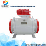 API 6D Forged Trunnion Flange Ball Valve
