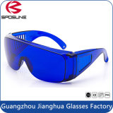 High Impact Eye-Protective Blue Lens Electric Welding Goggles