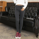 European Hot Sale Newest Design Ladies Jeans