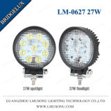 Offroad IP67 Bridgelux 4.3 Inch Round 27W LED Work Lights