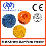 High Chrome Alloy/Rubber Slurry Pump Impeller From China