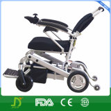 New Magnesium Alloy Adjustable Backrest Disabled Folding Electric Power Lithium Battery Wheelchair