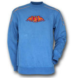 Crew Neck Sweat Shirts with Rubber Print