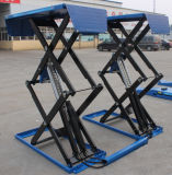 Full Rise Thin Hydraulic Scissor Lift for Sport Cars with CE