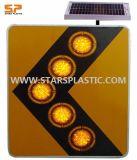 Solar Powered Amber Flashing Warning Lights (ST-STS-3B)