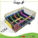 Colordul Design Trampoline Park Kids Indoor Trampoline with Safety Net