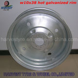 11.2-38 R1 Irrigation Tyre Set with Hot Galvanized Rim (W10X38)