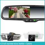 Aftermarket Car Rearview Mirror with Ultral-High Brightness Monitor, Car Camera, Auto-Dimming, Bluetooth, and Original Bracket for All Car