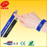 Bracelet USB Flash Disk, Silicon Wristband USB Memory Drives