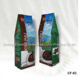 Coffee Packaging Bag with Side Gusset and Tin Tie