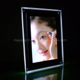 A4 Crystal Desktop Photos Frame with LED Lighting (CST-B-A4P)