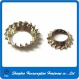 Countersunk External Tooth Lock Washer for Assembly
