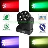 7X10W 4in1 RGBW LED Moving Head DJ Light (YS-216)