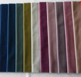 Wholesale Upholstery Double Color Soft Fleece Curtain Fabric