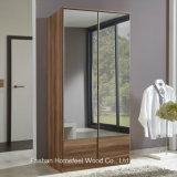 New 2 Doors Wooden Full Mirrored Wardrobe Dresser (WB13)