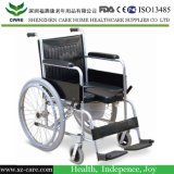Multifunction Steel Commode Wheelchair---CE Approved