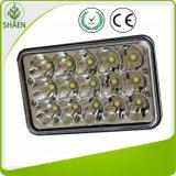 Epistar Waterproof IP67 LED Car Light LED Work Light DC12 2V 45W