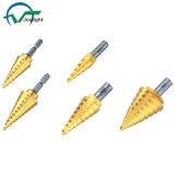 Tin-Coated HSS Step Drill Bits (JL-STSD)