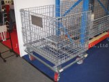 Heavy Duty Steel Movable Wire Container