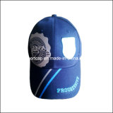 100%Polyester 6 Panel Custom Design Embroidery Pre-Curved Sport Cap, Baseball Hat (SGS)