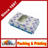 Packaging Paper Box with Window (1220)