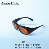 Laser Safety Eyewear 532nm&1064nm Laser for Medical Device Laser Machining, Hair Removal Lasers & Tattoo Removal Lasers