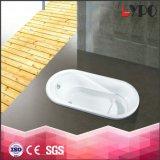 K-1304 Drop in Acrylic Bath Tub, Can Make Beige Color Bathtub, 8mm Thickness Acrylic Tub
