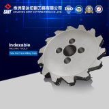Indexable Side and Face Milling Cutter with Multi-Teeth for CNC Machine