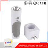 Wall Plug Night Light, Rechargeable LED Night Light