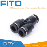 Dpy Series Plastic Material Triple Air Connector