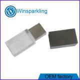 Free Logo Crystal USB Flash Drive Memory
