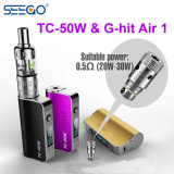 Seego G-Hit Air 1 & Tc-50W Newest Design Stainless Electronic Cigarette Kit