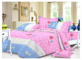 China Suppliers Queen Size Poly/Cotton Material Bedding Set Manufacture Disposable