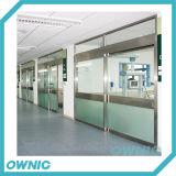 Manual Glass Sliding Door for Hospital