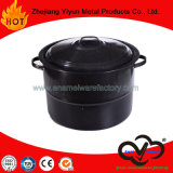 33qt Enamel Stock Pot Cookware /Enamel Steamer