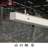 LED Aluminum Suspended Pendant Ceilinglight Linear Fixture for Office Lighting