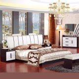 Bedroom Furniture Set with Antique Bed and Wardrobe (3366)
