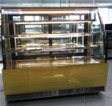 Air Cooling Type and Single-Temperature Style Counter Top Cake Display Showcase for Bakery Shop