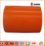 1240mm, 1250mm, 1570mm, PE /PVDF Cost Price Color Coated Aluminium Coil in Guangdong