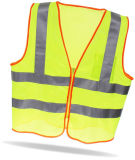 Traffic Safety Vest with Zipper Closure
