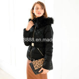 Ladies Best Quality Short Fitted Down-Filled Jacket