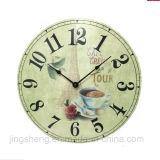 30cm Wooden Wall Clock & Printing Wall Clock