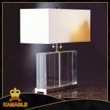 Bedroom Fabric Lampshade Table Crystal Lamps (TL1114)