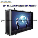"4k Ultra High Resolution 28""LCD Broadcast Sdi Monitor"