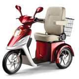 Three Wheel Handicapped Scooter with 500W Brushless Motor