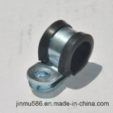 R Type Fixing Cable Hose Clamp with Rubber
