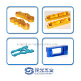 Aluminum Steering Block CNC Turning and Milling Service with Color Anodize W-005