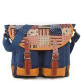 Fashion National Design Girl Jacquard Fabric School Bag (RS-6001)