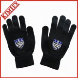 OEM Printing Knitted Magic Glove for Promotion