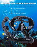 Diving mask, snorkel and fins